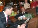Veteranii de război vizitaţi şi premiaţi de primarul Gabriel Boriga