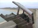 Caroserie de maşină descoperită în barajul de la Perşinari