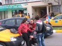 O elevă a fost accidentă pe trecerea de pietoni de un taximetrist.